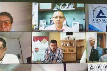 Canaco Tuxtla trabaja en nuevas estrategias para la reactivación económica