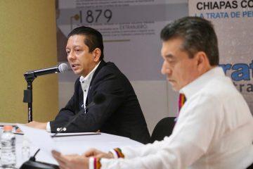 Chiapas tiene un gobierno humano y sensible que combate la Trata de Personas: Llaven