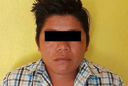 Detiene FGE a persona por delito de violación en Las Margaritas