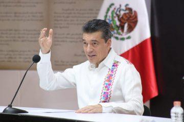 Privilegiar consenso y uso de la razón en tareas de fumigación y sanitización, pide Rutilio Escandón