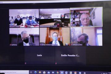 Encabezan Rutilio Escandón y Esteban Moctezuma reunión virtual con Sección 7 del SNTE-CNTE