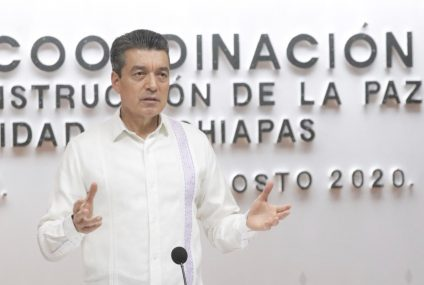Pide Rutilio Escandón cuidarse con mayor esmero para evitar rebrotes de COVID-19 en Chiapas