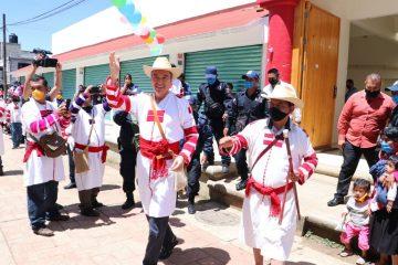 Con nuevo Mercado Público, responde Rutilio Escandón a demanda añeja del pueblo de Oxchuc