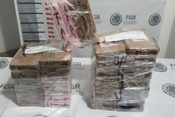 Aseguran cocaína en Chiapas