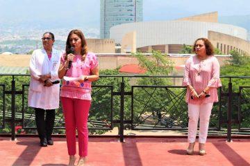 La prevención y la lucha contra el cáncer de mama es todos los días: Dulce Rodríguez.