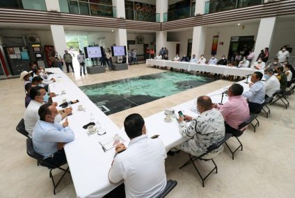 Reconocen alcaldes de la región Centro trabajo del fiscal general