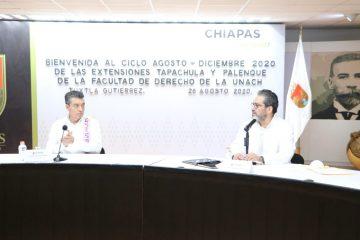 Sinergia entre Unach y Poder Judicial garantiza profesionales más capacitados: Rutilio Escandón
