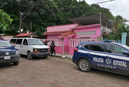 Rescata FGE a mujer privada de su libertad en Tapachula