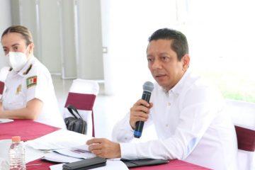 Acompaña fiscal general al gobernador a Mesa de Seguridad Estatal en Tapachula