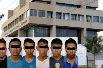 Integrantes de Barrio 18 son detenidos en Huixtla