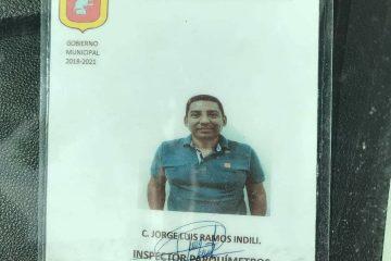Infraccionan a inspector de parquímetros de Tuxtla Gutiérrez por no pagar