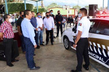 En Chiapas estamos construyendo la seguridad con la participación de los municipios: Llaven
