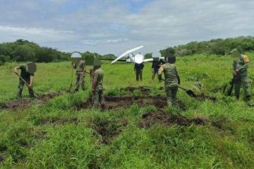 Confiscan nave y pista clandestina en Chiapas