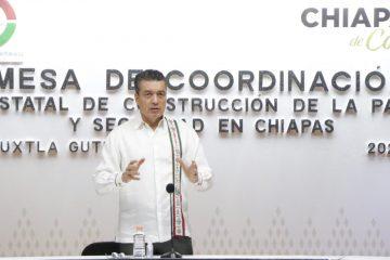 Chiapas, con resultados favorables en combate a COVID-19 y dengue: Rutilio Escandón