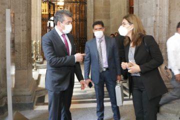 Rutilio Escandón destaca apoyo del Presidente AMLO para avanzar a favor de la educación