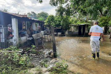 Vulnerables casi 900 mil chiapanecos por llegada de «Nana»