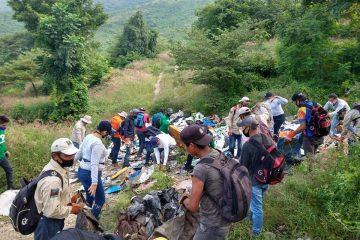 Basura sigue acumulada en el Cañón del Sumidero