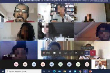 """Imparte FGE plática virtual """"Riesgos en internet"""" a estudiantes en Tuxtla Gutiérrez"""