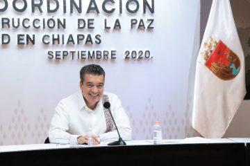 Chiapas, ejemplo a nivel nacional en combate al COVID-19 y dengue: Rutilio Escandón