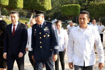 Reconoce Llaven trabajo del Ejército Mexicano para garantizar la paz en Chiapas