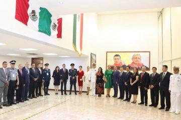Acompaña Llaven al gobernador en conmemoración de la Independencia de México
