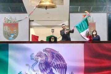 Rutilio Escandón conmemora 210 Aniversario del Grito de Independencia
