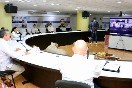 Gobierno de Rutilio Escandón comparte estrategias de atención al COVID-19 con Colima