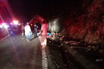 Inicia FGE carpeta de investigación por hecho de tránsito ocurrido en tramo carretero La Trinitaria-Frontera Comalapa