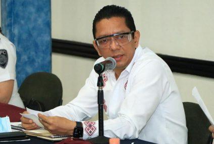 Acompaña fiscal general al gobernador a Mesa de Seguridad Estatal y Regional en Palenque