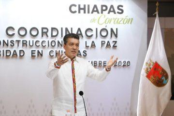 Chiapas inicia reactivación económica de manera gradual y segura: Rutilio Escandón