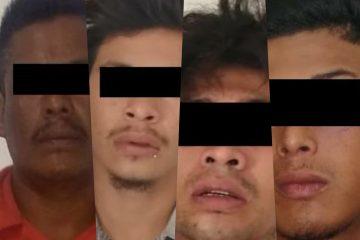 Detiene Fiscalía a cuatro implicados en robo con violencia en Chiapa de Corzo