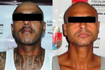 Salvadoreños con antecedentes penales en EUA fueron detenidos en Chiapas
