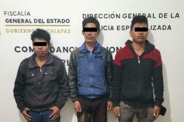 Esclarece Fiscalía homicidio en Siltepec; hay tres detenidos