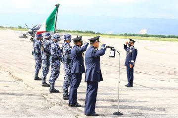 Rinde protesta nuevo comandante de la Región Aérea Sureste