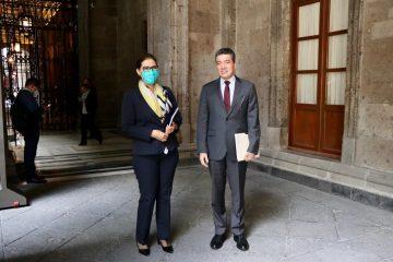 Agradece Rutilio Escandón respaldo del presidente AMLO en atención al magisterio chiapaneco