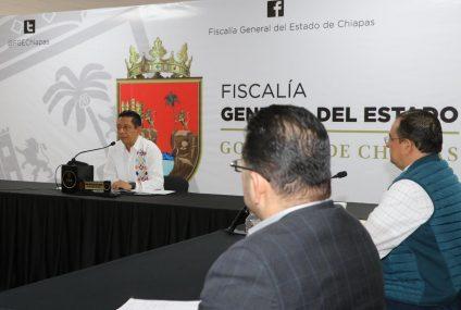 Encabeza Llaven reunión de trabajo con fiscales de Distrito y de Materia