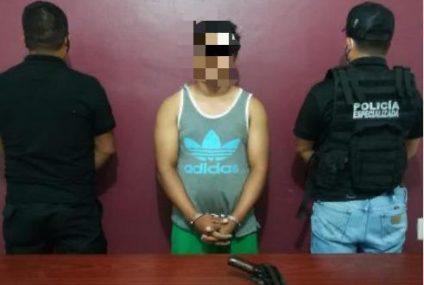 Detiene FGE a persona por portación de arma de fuego en Jiquipilas