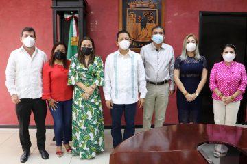 Trabajar en coordinación FGE y Poder Legislativo por el bienestar de Chiapas: Llaven Abarca