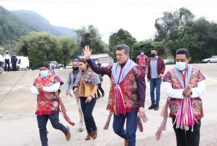 Rutilio Escandón fortalece producción de lana, miel, café y árboles frutales en la Región Altos Tsotsil Tseltal