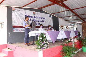 Desde Emiliano Zapata llama Llaven Abarca a erradicar la violencia en los hogares