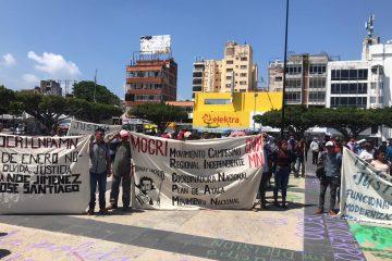 Mocri CNPA-MN exige justicia para sus líderes asesinados en Amatán, Chiapas