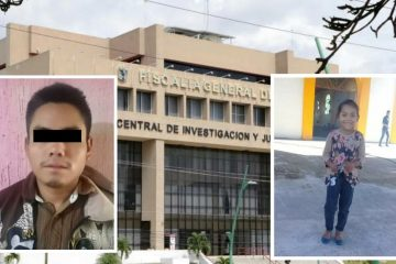 Detenido feminicida de menor de 6 años en Chiapas
