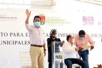 Nuestra prioridad es garantizar la seguridad a la ciudadanía: Llaven Abarca