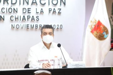 Aún con resultados favorables contra el COVID-19, en Chiapas no bajamos la guardia: Rutilio Escandón