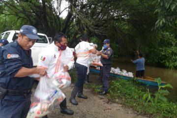 Instruye gobernador de Chiapas atención inmediata a familias afectadas por Eta y Frente Frío 11