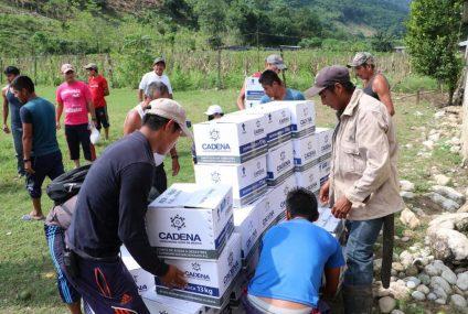 Estos son los apoyos que Chiapas a recibido de organismos internacionales y sector empresarial