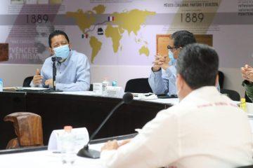 Destaca Llaven coordinación de la Mesa de Seguridad en el combate de delitos de alto impacto