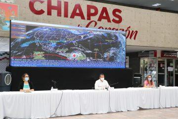 Pide Rutilio Escandón a su Gabinete instalar centros de acopio en apoyo a familias damnificadas
