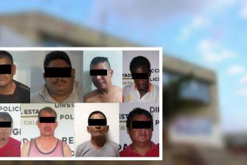 Caen ocho personas por violencia familiar en Tapachula y Tuxtla Chico