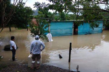 Frente Frío 11 y Depresión Tropical Eta han dejado afectaciones en 20 municipios de Chiapas: PC